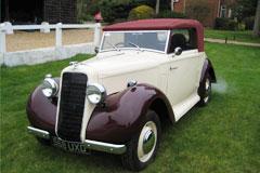 Hillman Aero Minx Convertible 1935