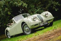 Jaguar XK120 1953