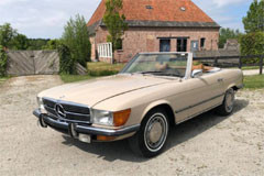 Mercedes Benz SL 350 1971