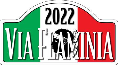 Via Flaminia Corse rally shield