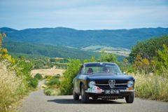 Alfa Romeo on rally in corse