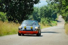 driving in corsica with Porsche 911